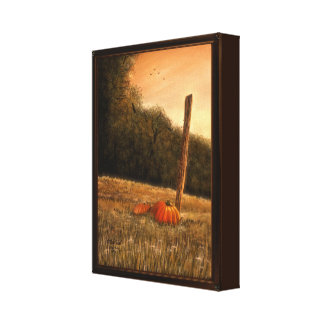 "October in the South (8.95"" x 11.9"" x 1.5"") Canvas Print"