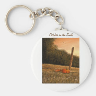 October in the South Keychain