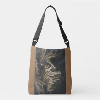 October plumes crossbody bag