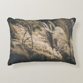 October plumes decorative cushion