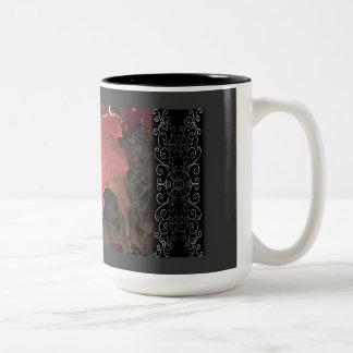 October Sunrise Two-Tone Coffee Mug