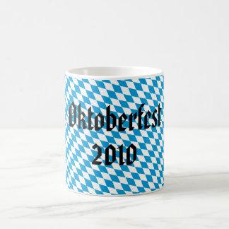 Octoberfest 2010 cup basic white mug