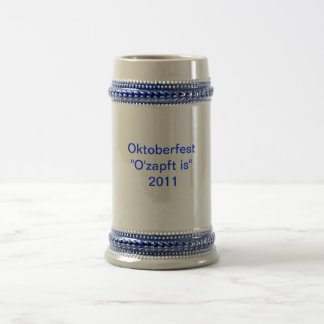 Octoberfest 2011 mugs