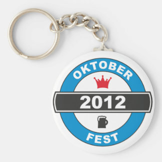 Octoberfest 2012.png basic round button key ring