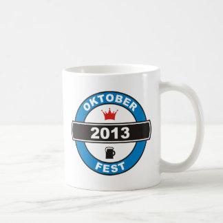 Octoberfest 2013 basic white mug