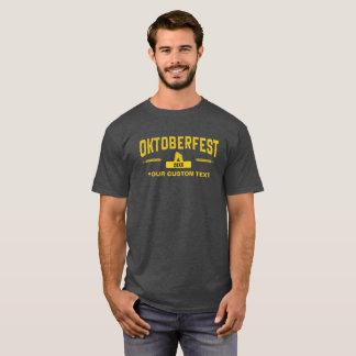 Octoberfest 2017 Cool Vintage Style Custom Text T-Shirt