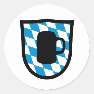 Octoberfest Bavaria Classic Round Sticker