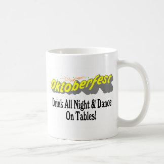 Octoberfest Drink All Night & Dance On Tables! Mug