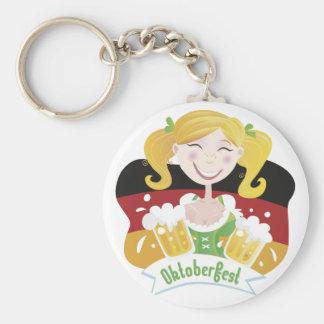 Octoberfest Mädchen Keychains