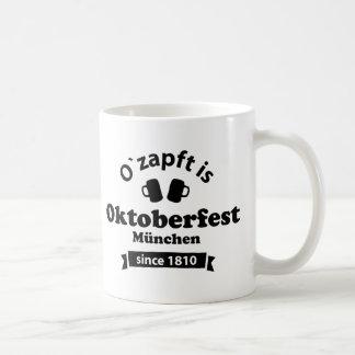 Octoberfest O' taps is Basic White Mug