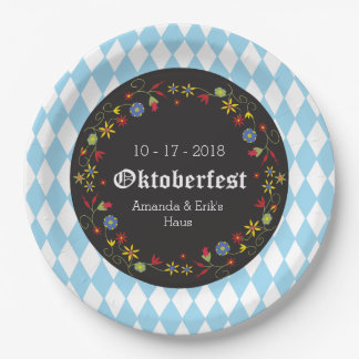 Octoberfest, Oktoberfest Party Plates - Customize