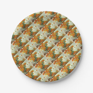 October's Child Birthday Wishes 7 Inch Paper Plate