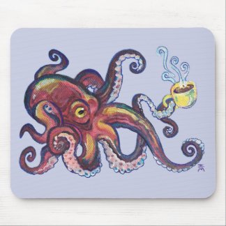 OctoCoffee Mouse Pad