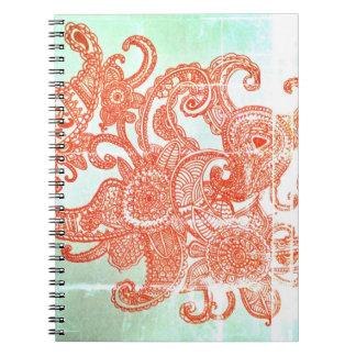 Octopaisley Spiral Note Book