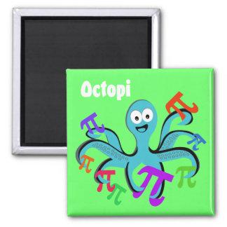 Octopi Square Magnet