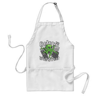 Octopii Wall Street - Occupy Wall St Aprons