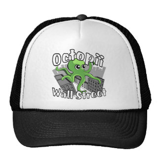 Octopii Wall Street - Occupy Wall St! Trucker Hats