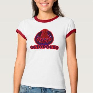 octopocto cartoon style octopus illustration T-Shirt
