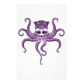 Octopus 2 customized stationery