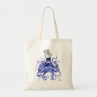Octopus About Town Budget Tote Bag