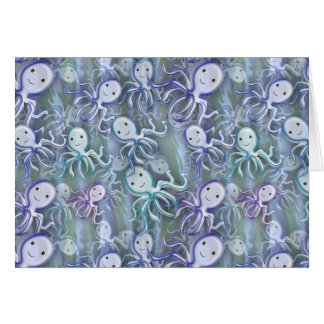 Octopus Adventure Greeting Cards