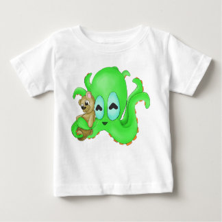Octopus and Teddy Bear Shirt (Customize Color!)