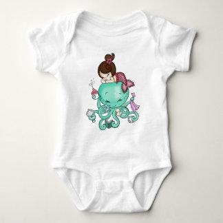 Octopus Babysitter T Shirt