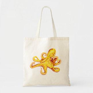 octopus canvas bag