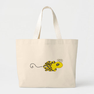 Octopus Bee Tote Bag