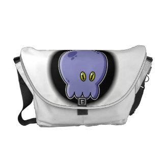 Octopus blue courier bag