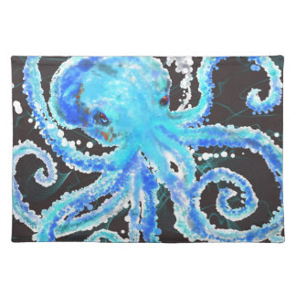 Octopus bubbles placemat