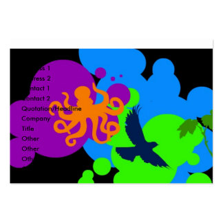Octopus Business Card Templates