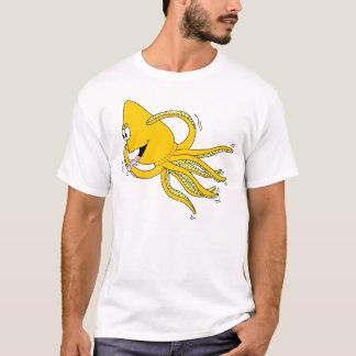 Octopus Cartoon T-Shirt