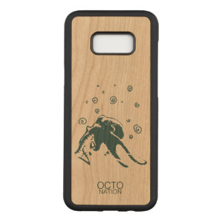 Octopus! Carved Samsung Galaxy S8+ Case