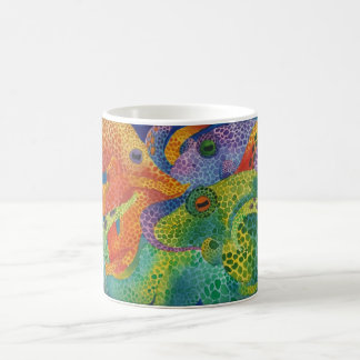 Octopus Color Explosion Coffee Mug