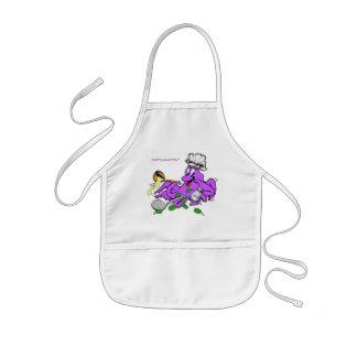 Octopus Cook Kids Apron