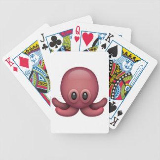 Octopus - Emoji Bicycle Playing Cards