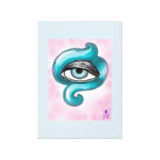 Octopus Eye Canvas Print