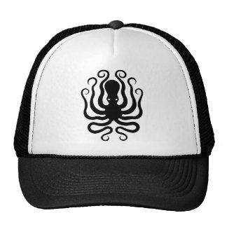 Octopus, Greek relief design Cap