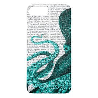 Octopus Green Half iPhone 8 Plus/7 Plus Case