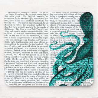 Octopus Green Half Mouse Pad