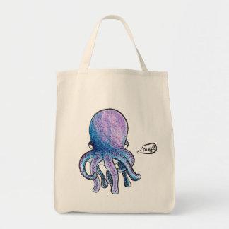 Octopus Hugs Tote Bag