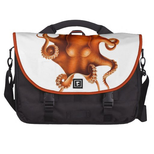 Octopus Illustration Laptop Computer Bag