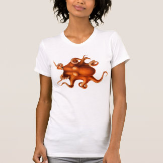 Octopus Illustration T-Shirt