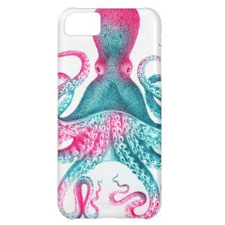 Octopus illustration - vintage - kraken iPhone 5C case