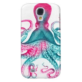 Octopus illustration - vintage - kraken samsung galaxy s4 covers