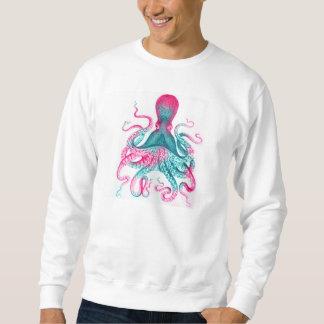 Octopus illustration - vintage - kraken sweatshirt