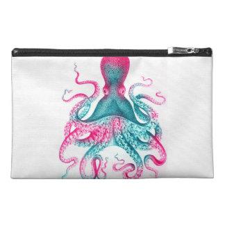 Octopus illustration - vintage - kraken travel accessory bag