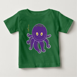 Octopus in the Childish T-shirt! Baby T-Shirt