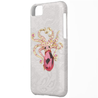 Octopus Jewel Photo Paisley Lace iPhone 5 Case